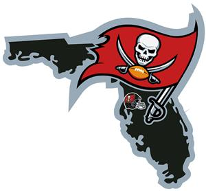 NFL Tampa Bay Buccaneers Home State Decal