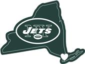 NFL New York Jets Home State Decal