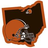 NFL Cleveland Browns Home State Decal