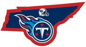 NFL Tennessee Titans Home State Decal