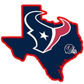 NFL Houston Texans Home State Decal