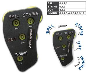 Champro A048 Baseball 4-Dial Umpire Indicators