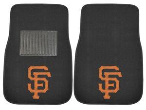 Fan Mats MLB Giants Embroidered Car Mat (set)