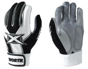 Worth Toxic Adult Sheep Leather Batting Gloves