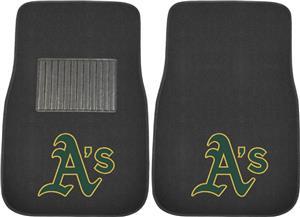 Fan Mats MLB Athletics Embroidered Car Mat (set)