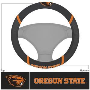 Fan Mats Oregon State Steering Wheel Cover
