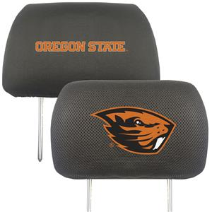 Fan Mats Oregon State Univ. Head Rest Cover (set)
