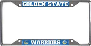 Fan Mats Golden State Warriors License Plate Frame
