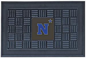 Fan Mats NCAA US Naval Academy Medallion Door Mat