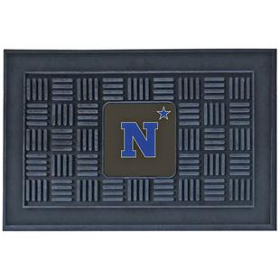 Fan Mats NCAA US Naval Academy Medallion Door Mat