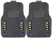 Fan Mats NCAA US Naval Academy Deluxe Car Mat Set