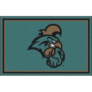Fan Mats NCAA Coastal Carolina 4'x6' Rug