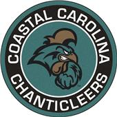 Fan Mats NCAA Coastal Carolina Roundel Mat