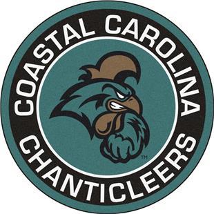Fan Mats NCAA Coastal Carolina Roundel Mat