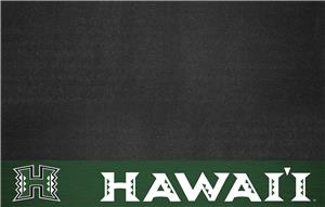 Fan Mats NCAA University of Hawaii Grill Mat