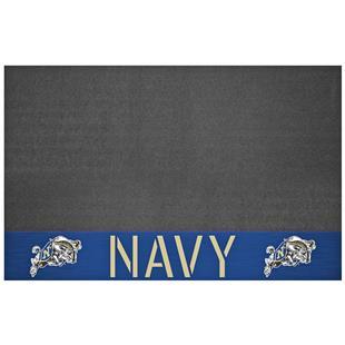 Fan Mats NCAA U.S. Naval Academy Grill Mat