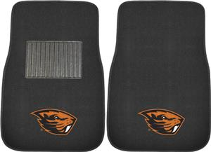 Fan Mats NCAA Oregon St. Embroidered Car Mat (set)