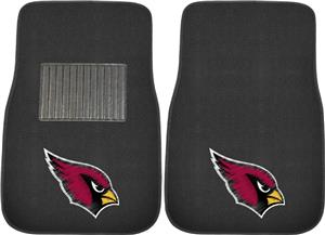 Fan Mats NFL Cardinals Embroidered Car Mat (set)
