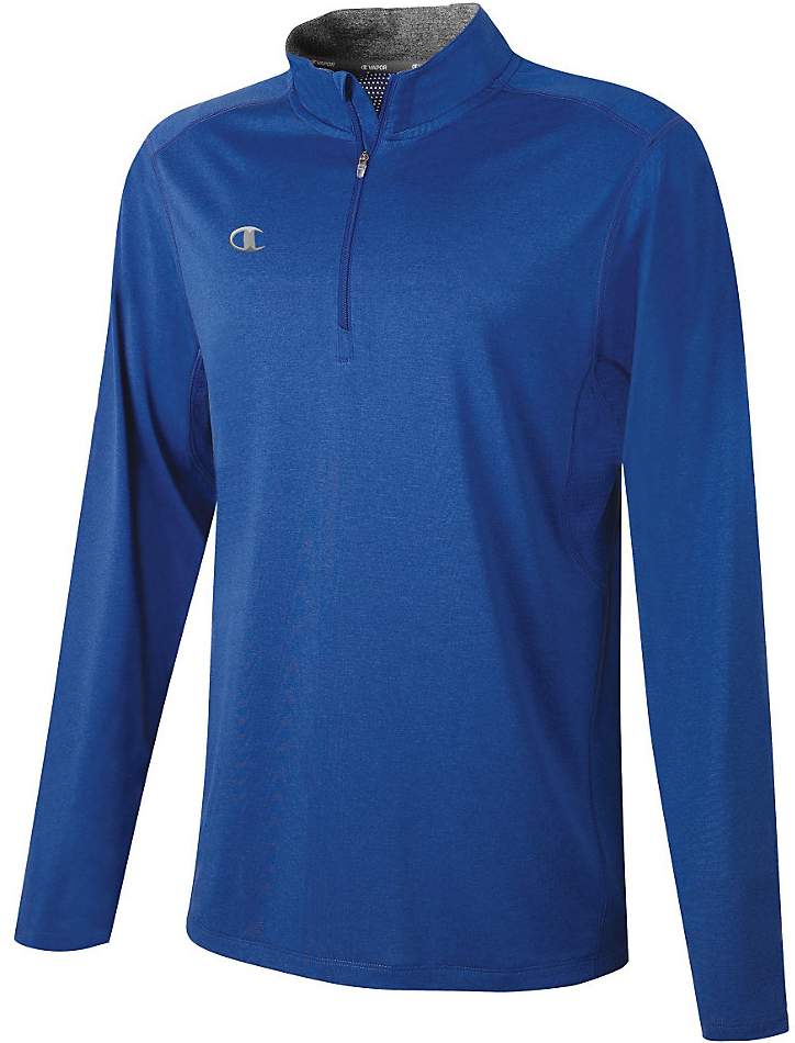 E119688 Champion Adult Vapor Heathered 1/4 Zip Pullover