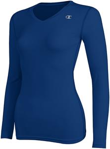 Champion Womens Double Dry L/S Compression Top