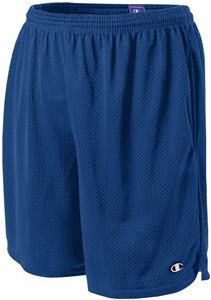 "Champion Adult 9"" Mesh Shorts w/Pockets"