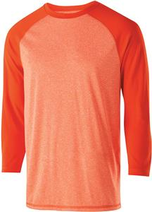 Holloway Adult Youth Typhoon 3/4 Sleeve Shirt