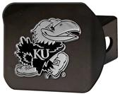 Fan Mats NCAA University of Kansas Hitch Cover