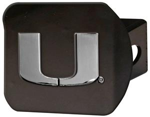Fan Mats NCAA University of Miami Hitch Cover