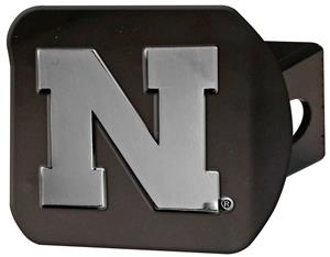 Fan Mats NCAA University of Nebraska Hitch Cover