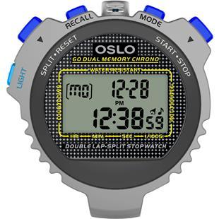 Oslo Silver 60 Sixty Dual Memoryw/EL backlight