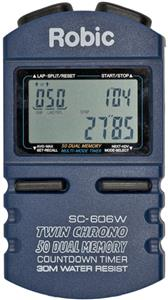 Robic Timers SC-606W 50 Memory Chronograph