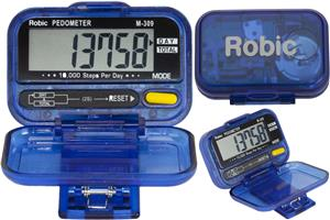 Robic Timer M309 Daily & Total Step Counter