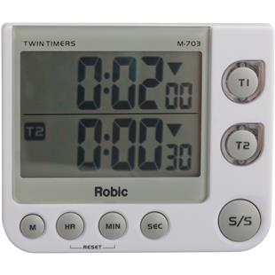 Robic Timers M703 Twin Timers