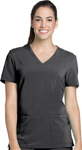 Lynx Womens Unleashed V-Neck Scrub Top