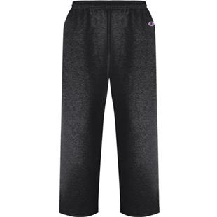 Champion Double Dry Action Fleece Open Bottom Pant