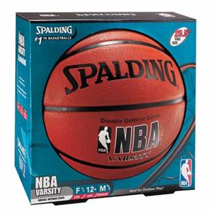 Spalding NBA Varsity Rubber Outdoor Basketballs