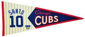 Winning Streak MLB Cubs Santo Legends Pennant
