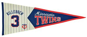 Winning Streak MLB Twins Killebrew Legends Pennant