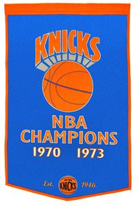 Winning Streak NBA New York Knicks Dynasty Banner
