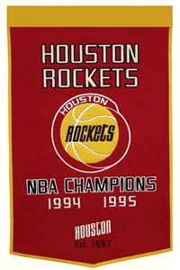 Winning Streak NBA Houston Rockets Dynasty Banner