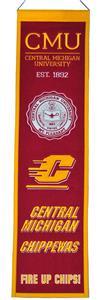 Winning Streak NCAA CMU Heritage Banner