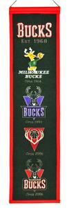 Winning Streak NBA Milwaukee Bucks Heritage Banner