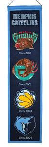 Winning Streak NBA Grizzlies Heritage Banner