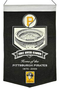 Winning Streak MLB Three Rivers Stadium Banner