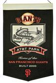 Winning Streak MLB AT&T Park Stadium Banner