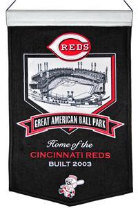 Winning Streak MLB Great American Ballpark Banner