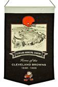 Winning Streak NFL Cleveland Stadium Banner
