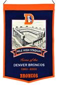 Winning Streak NFL Mile High Stadium Banner