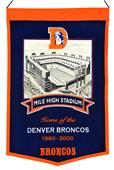 Winning Streak NFL Mile High Stadium Banner