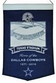 Winning Streak NFL Texas Stadium Banner